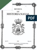 Revista de Historia Naval Nº24. Año 1989