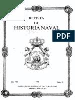 Revista de Historia Naval Nº29. Año 1990