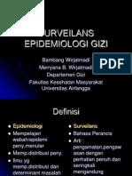 Surveilans Epidemiologi Gizi