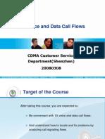 CDMA_BSSB 1X Voice and Data Call Flows