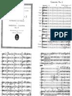Chopin - 2nd Piano Concerto in F Minor - Full Score