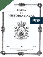 Revista de Historia Naval Nº32. Año 1991