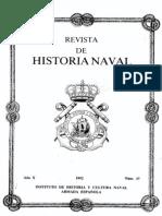 Revista de Historia Naval Nº37. Año 1992