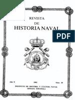 Revista de Historia Naval Nº38. Año 1992