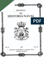Revista de Historia Naval Nº40. Año 1993