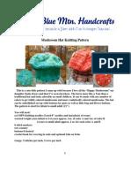 Bmh Mushroom Hat Knitting Pattern
