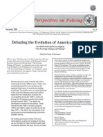 Hartman - Perspectives on Policing- Debating the Evolution of American Policing