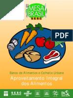 Cartilha de Receitas de Aproveitamento Alimentar