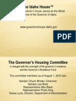 Idaho House-Public Meeting