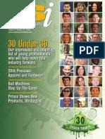 201311 Racquet Sports Industry magazine