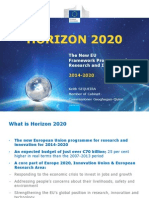 Horizon 2020 Presentation