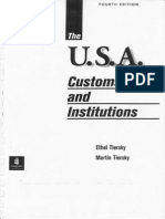 USA Customs and Institutions - complete book guide