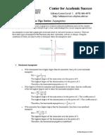 Asymptotes Worksheet