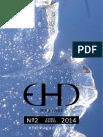 EHD magazine nº 2 pliego enero-febrero 2014