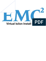 Virtual Isilon Install Guide