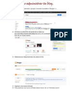Como Administrar Tu Blog