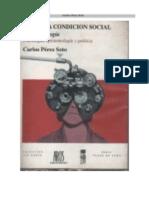 Perez Soto Carlos - Sobre La Condicion Social de La Psicologia