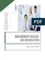 Requirement Analysis