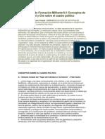 Cuadernillo de Formación Militante N.1 Conceptos de Fidel y Che sobre el cuadro político