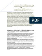 Cuadernillo de Formación Militante N.6 Sobre vanguardia y teoría revolucionaria. Extractos de M. Harnecker, E. Hoxha, T. Borge