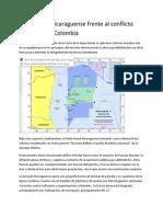 Poder naval nicaraguense frente al conflicto limítrofe con Colombia