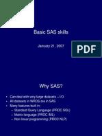 Basic SAS Skills