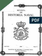 Revista de Historia Naval Nº71. Año 2000