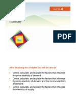 Elasticidad - Capt 4 - Economia