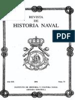 Revista de Historia Naval Nº75. Año 2001