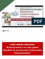 Impacto de la Crisis Financiera - AMPEX, Foro Macroregional
