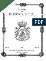 Revista de Historia Naval Nº79. Año 2002