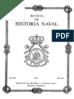 Revista de Historia Naval Nº80. Año 2003