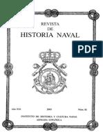 Revista de Historia Naval Nº81. Año 2003