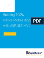 Syncfusion WP Native Apps Using Mvc