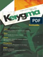 Kerygma - Vol. 1_No. 1 [Segunda Etapa]