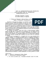 Nuevos roles de la Administración Pública y su regulación por el derecho administrativo