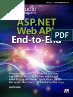 Syncfusion ASP Net Web API End to End