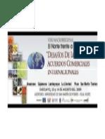 Proyecto Olmos - AMPEX, Foro Macroregional