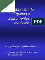 Calibracin de Instrumentos