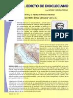 El Edicto Diocleciano sobre los Precios Máximos