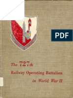 727th Railway Operating Battalion in World War II unit history