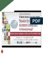 Oportunidades Comerciales en la Macro Región - AMPEX, Foro Macroregional