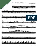 Andean Rhapsody G. Russolo.Ottavino Music Score