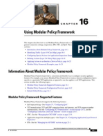 Using Modular Policy Framework