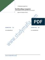 Mind Reading PDF Report