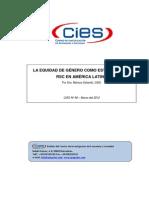 LA EQUIDAD DE GÉNERO COMO ESTRATEGIA DE RSC EN AMÉRICA LATINA