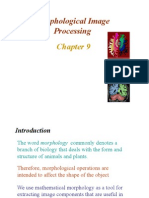 Ch9 - Morphological Image Processing