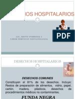 DESECHOS HOSPITALARIOS