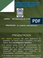 1. MET. DE LA INV.  2013