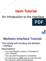 Multisim Software Tutorial
